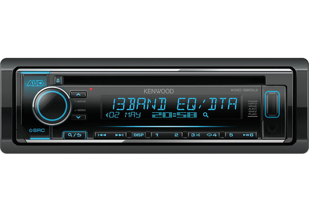 Автомагнитола CD/USB/MP3/Android Kenwood KDC-320UI