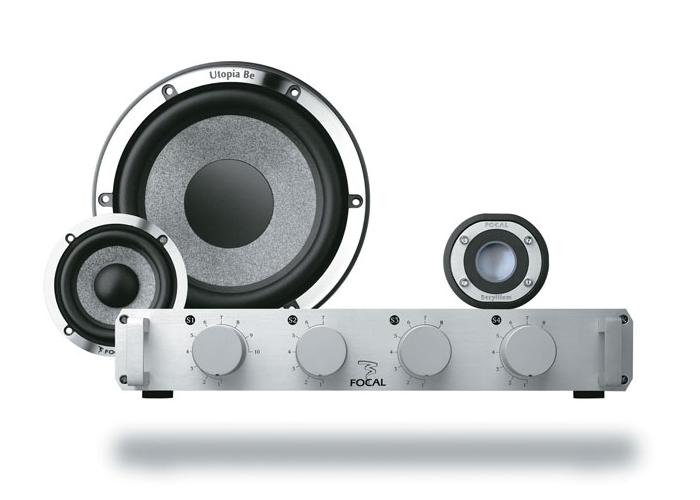 "Автоакустика компонентная 6"" Focal Utopia Be Kit N7 Active"