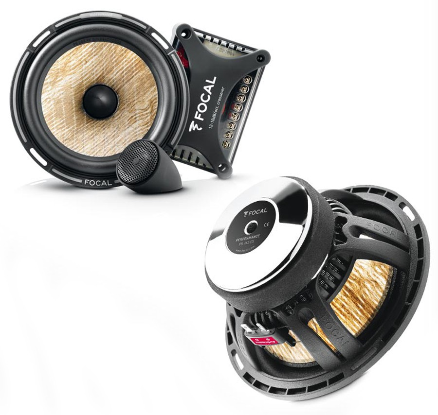 "Автоакустика компонентная 6"" Focal Performance PS 165FX"