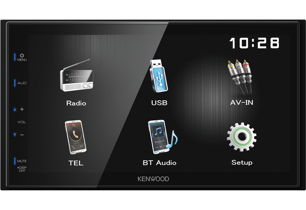 Мультимедийная автомагнитола 2DIN без CD/DVD-привода с Bluetooth Kenwood DMX-110BT